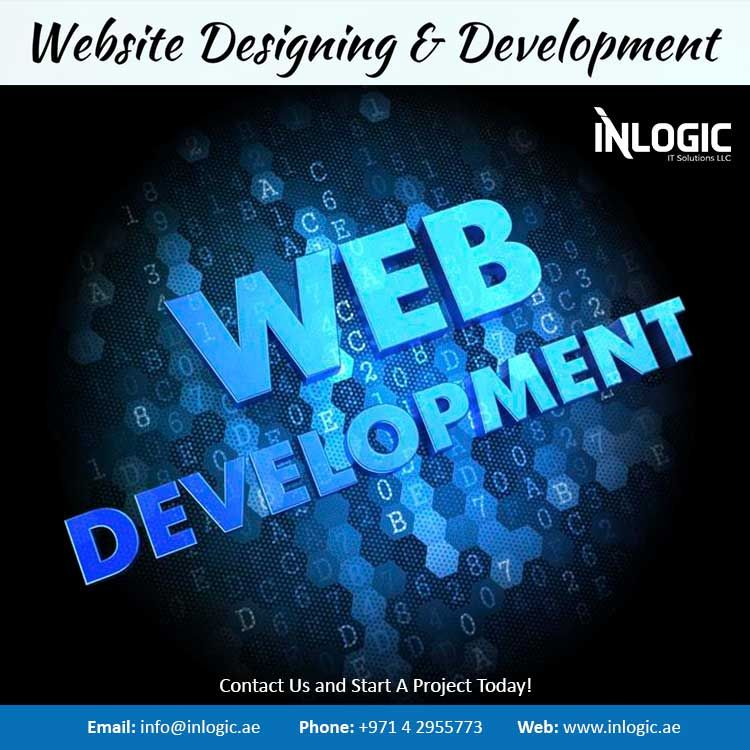Inlogic Leading Website Development Company Dubai Online Web Design Web Design Web Design Websites