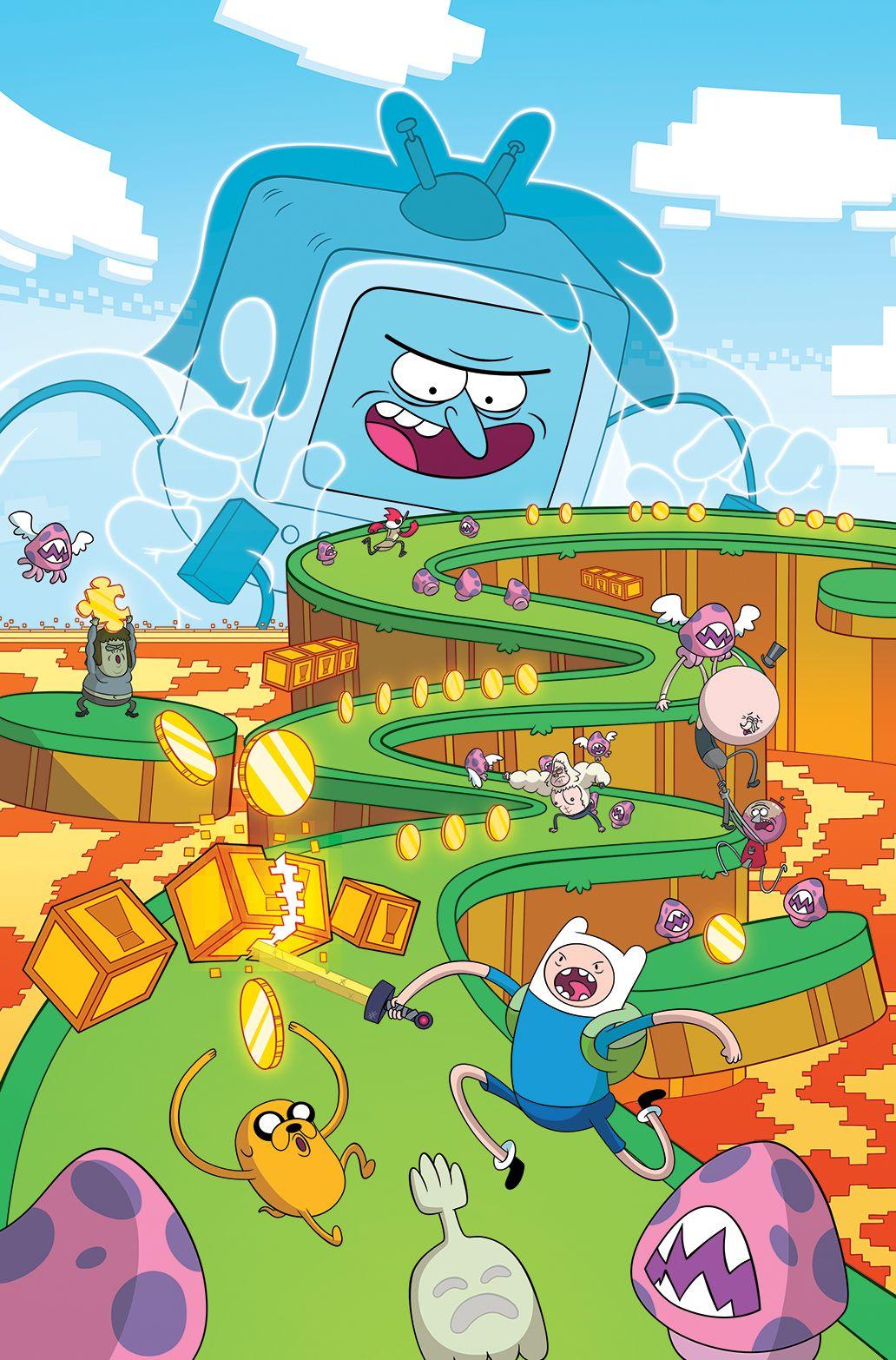 Adventure Time Regular Show 02 Dessin animé, Dessin, Anime