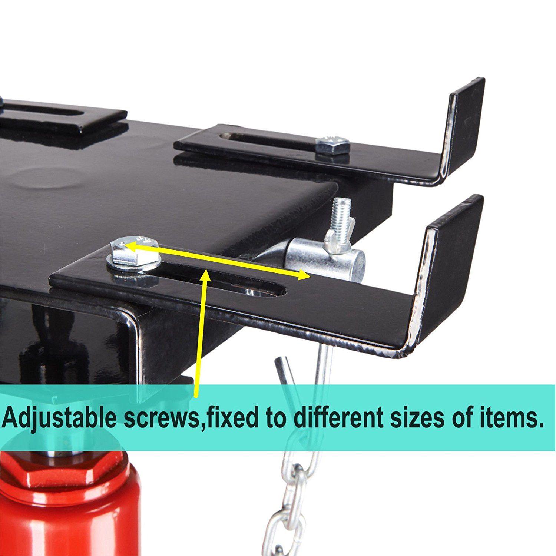 Transmission Jack High Lift Adjustable Foot