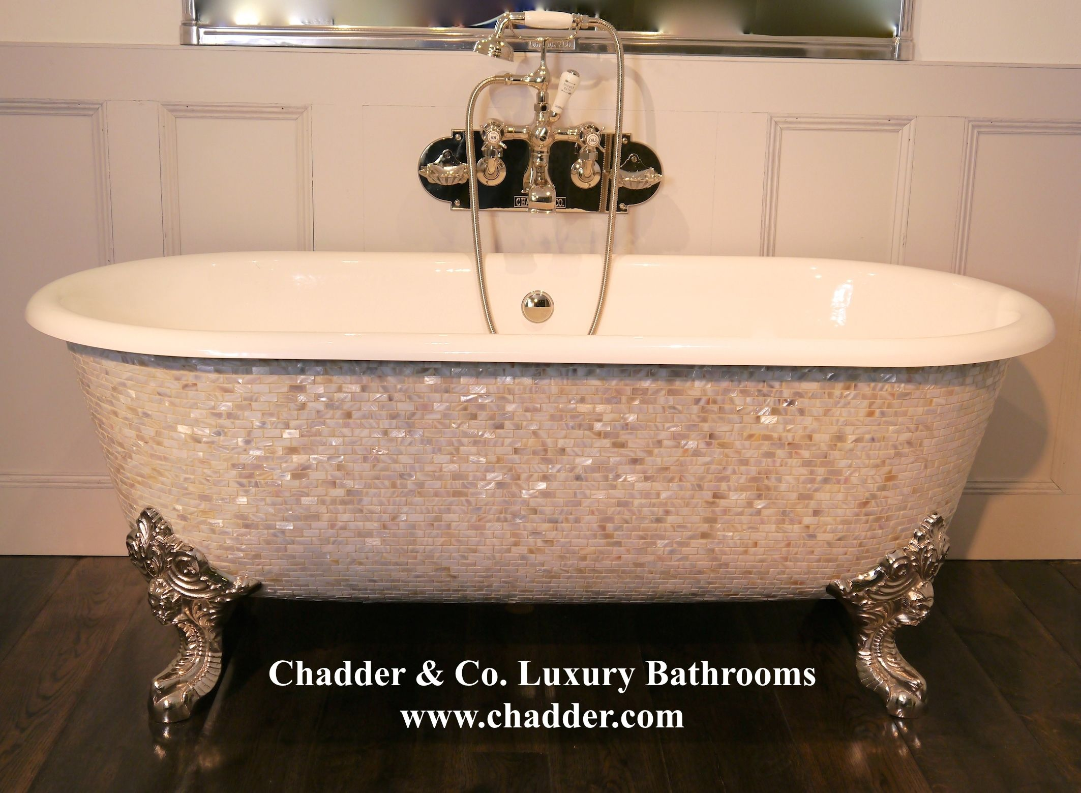 mother of pearl chadder blenheim mosaic bath luxury mosaic tubs for luxury