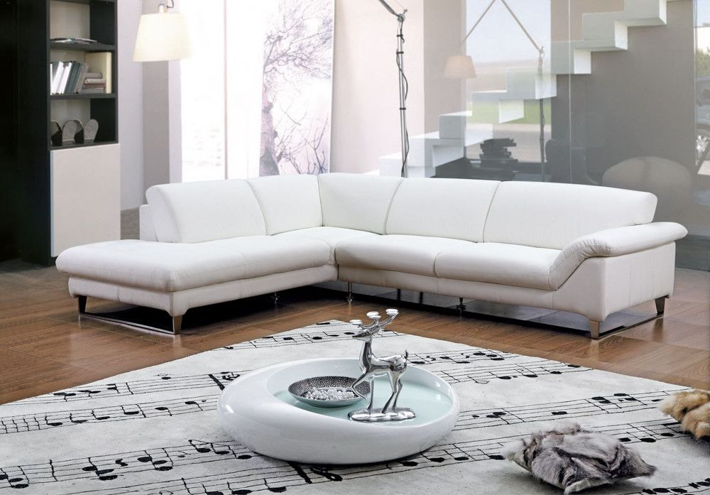 10 Most Popular White Leather Couch Living Room