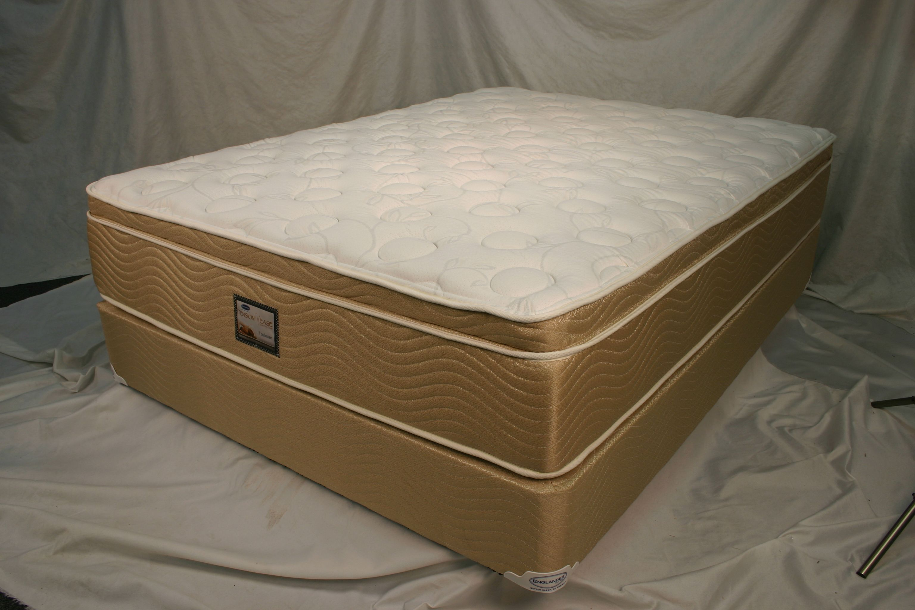 toulouse pillow top tension ease mattress by englander all