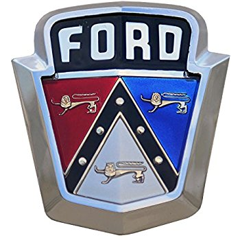 This Is Why Many Old Fords Had Badges With Three Cats On Them Ford Emblem Car Badges Ford Trucks