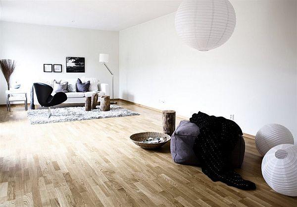 bright apartment with a nordic interior design - Nordic Home Design