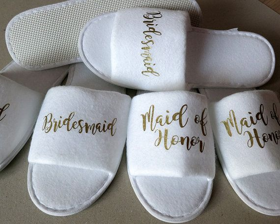 0ab291fd0 Bridal party slippers