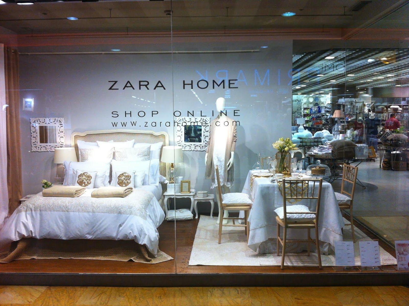 Resultado de imagen de escaparates zara home escaparates display furniture showroom y - Home colchones ...