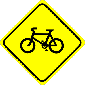 Style Guide Clker Bicycle Sign Clip Art Road Signs