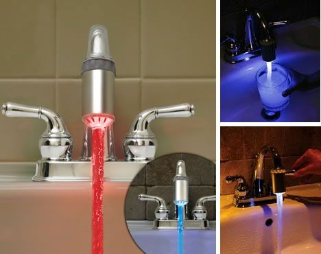 Funky Faucets 14 Futuristic Faucet Sink Basin Designs Led
