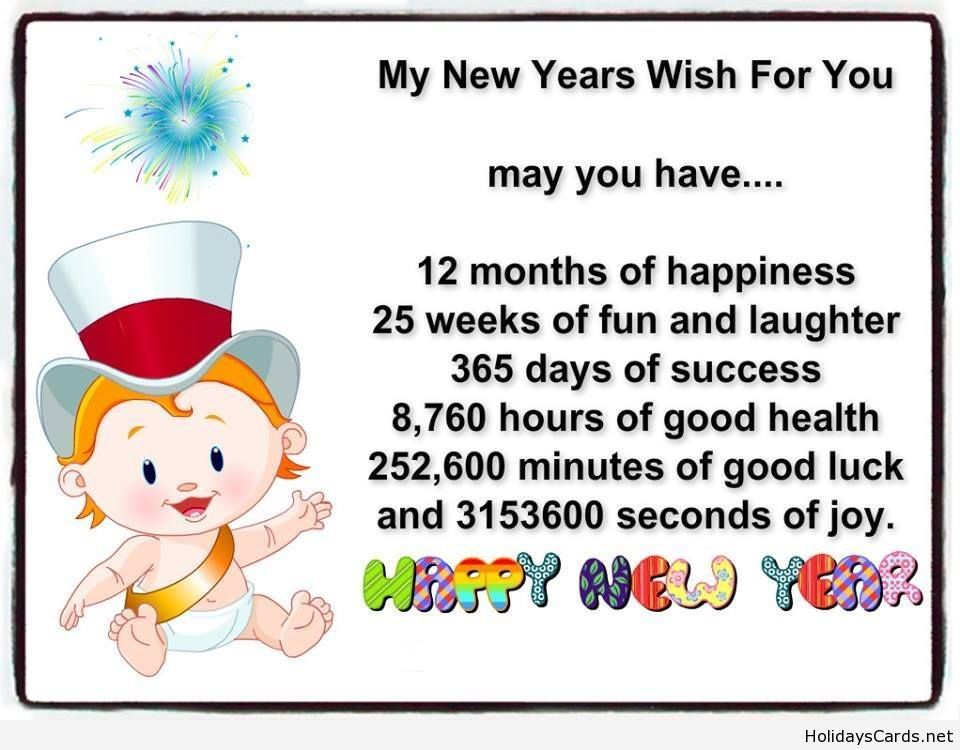 My new year`s wish for you   Happy New Year   Pinterest   Yearly