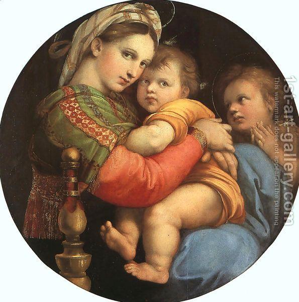 Raphael:Madonna della Sedia  1518