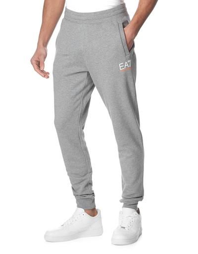 Emporio Armani EA7 7 Stripe Small Logo Fleece Cuffed Pants   JD Sports   armani   b41dbe40e9d