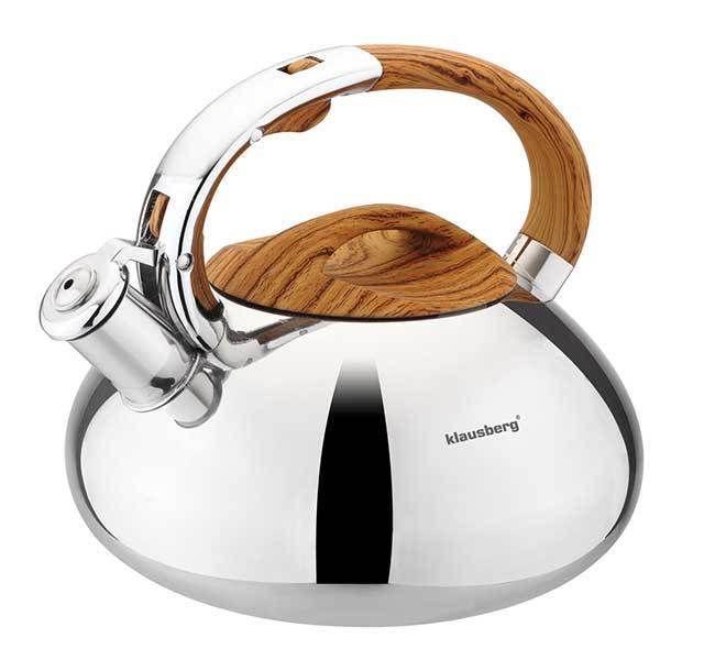 Teekessel Edelstahl Pfeife Flötenkessel Wasserkocher mit Wasserkessel