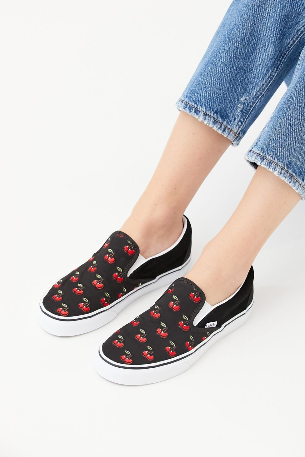 Cherry Vans Slip On Online Hotsell, UP TO 51% OFF