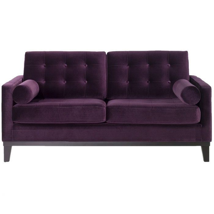 Etonnant Aubergine Couch