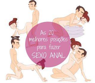 20 posições para fazer sexo anal