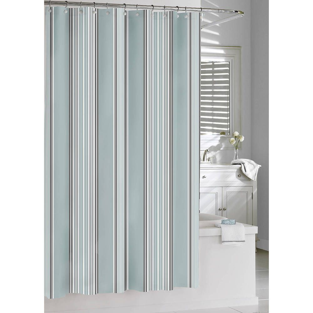 Emily Cotton Stripe Shower Curtain | Overstock.com Shopping - Great ...