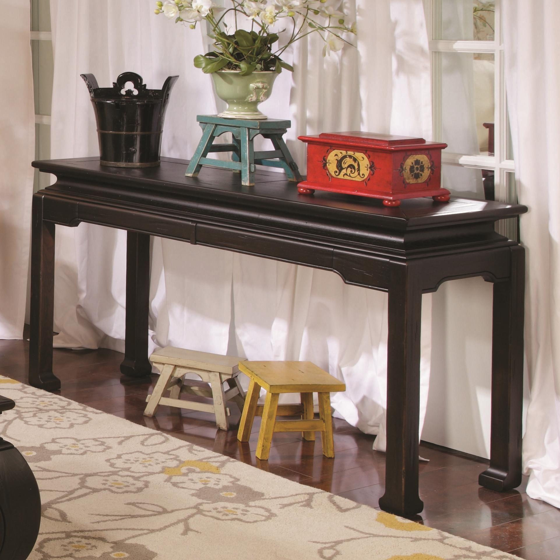 Chow Sofa Table by Hammary Stoney Creek Furniture Sofa Table