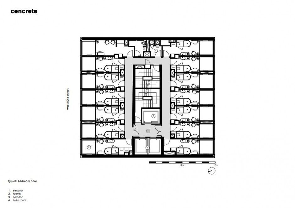 Image result for citizenm new york How to plan, Floor