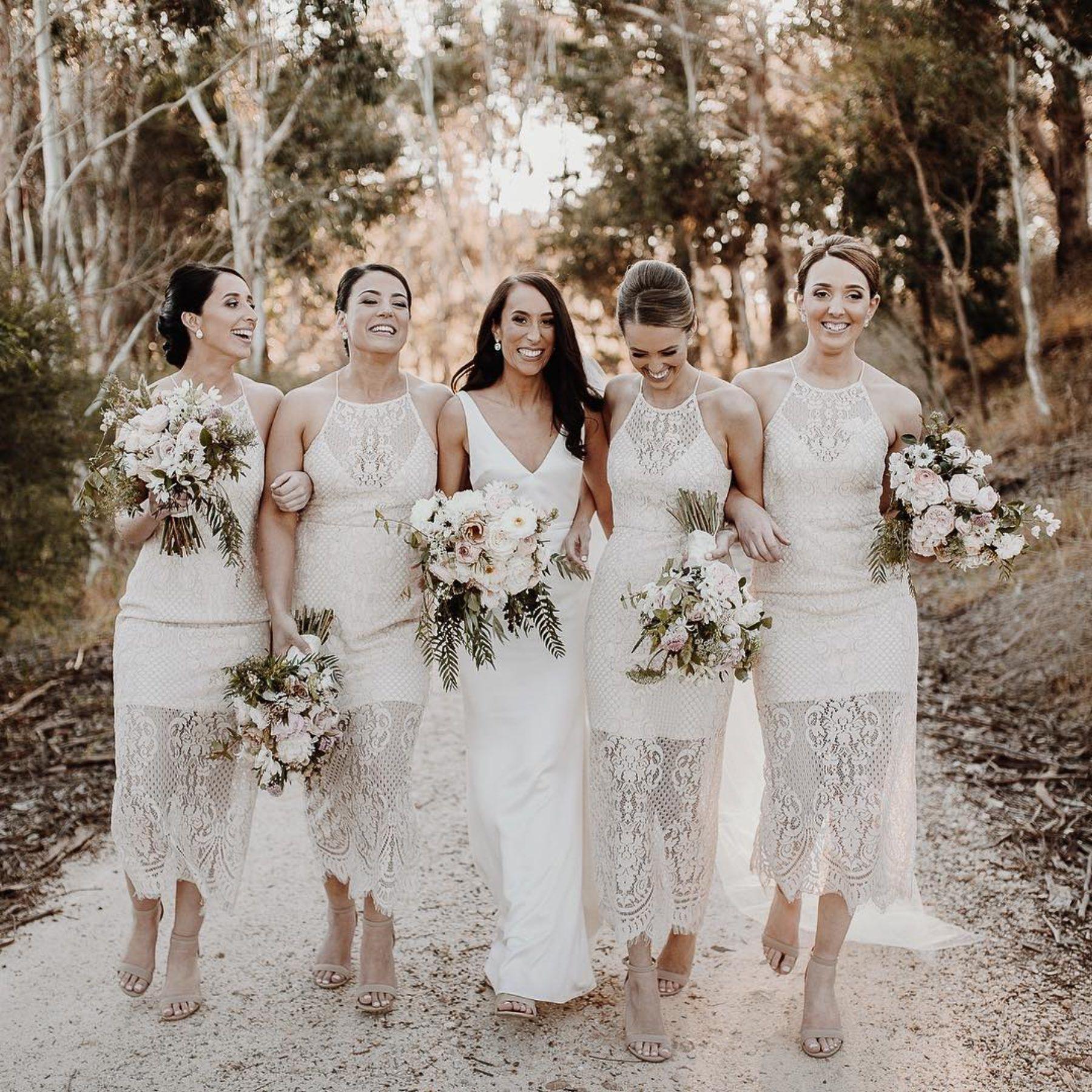 Bridesmaids Only / best bridesmaid dresses in Australia #lacebridesmaids