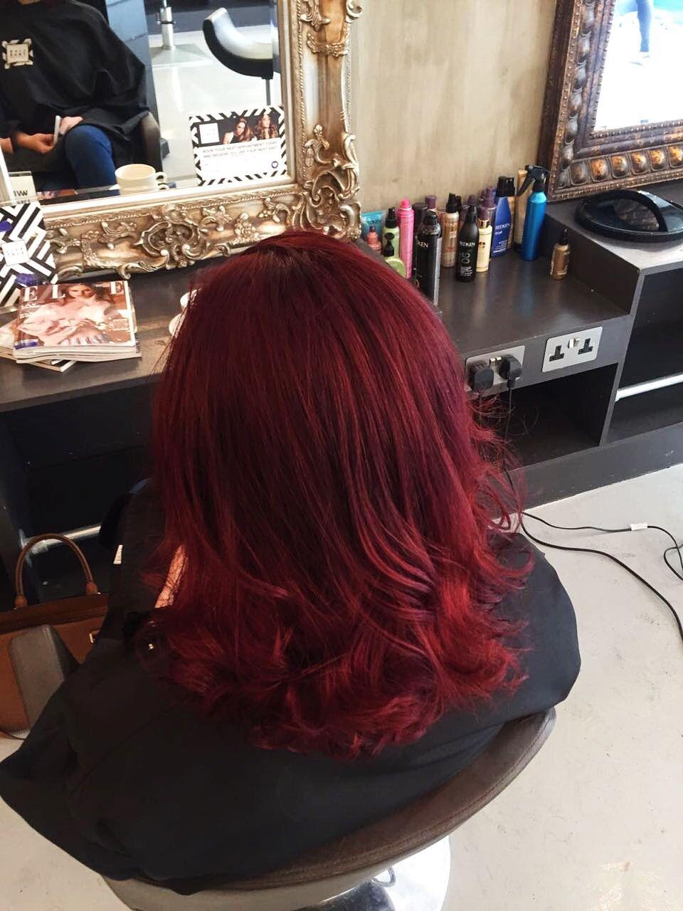 Red hair color hair red redhair curls curlyhair shorthair