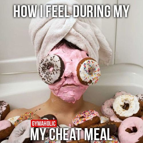Image result for cheat meal meme