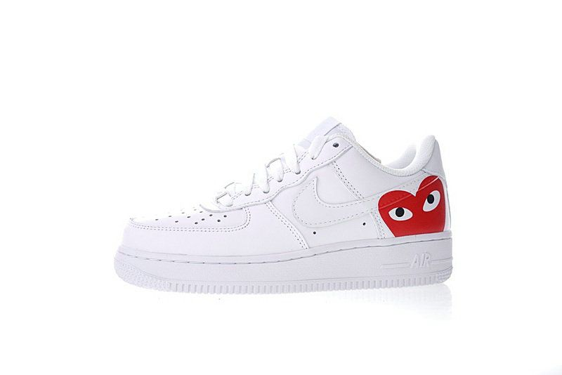 size 40 b48ba bc373 COMME des GARCONS PLAY x Nike Air Force 1 Low Retro 315115-112