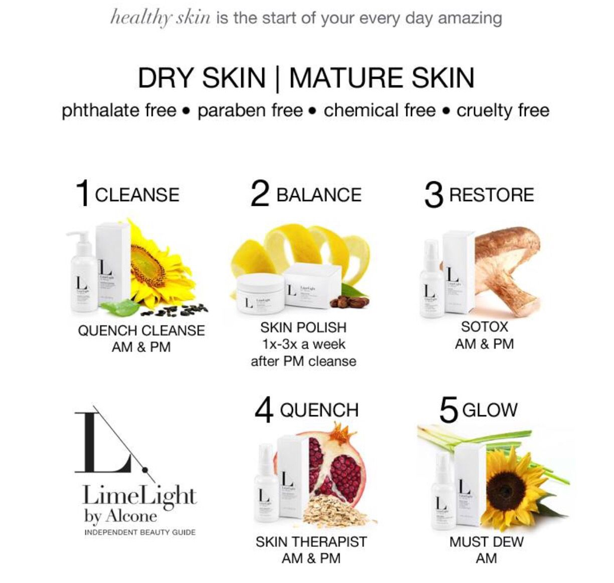 Limelight By Alcone Anti Aging Skin Products Cruelty Free Skin Care Dry Skin Care Routine