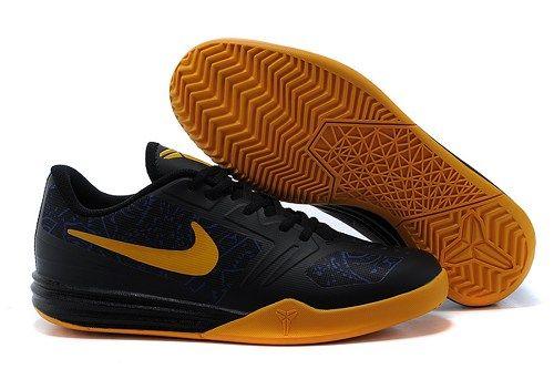 reputable site 78824 4adc3 NIKES KB MENTALITY kobe 10 men basketball shoes black blue yellow