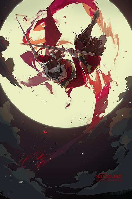 Blackbird - sketch for patreon by shilin.deviantart.com on @DeviantArt