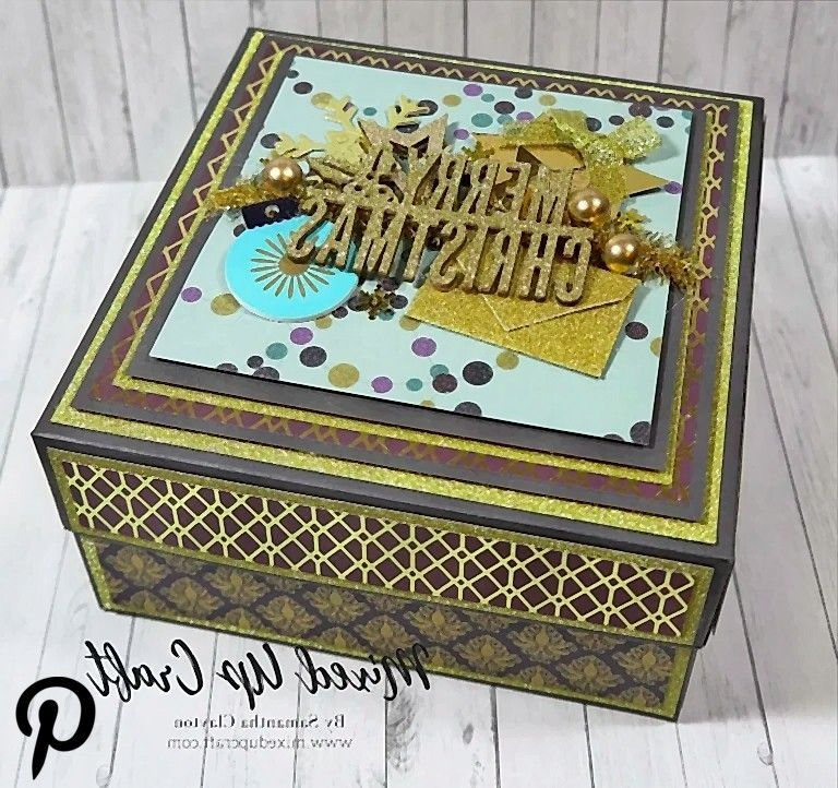 x 6 x 3 Stylish Gift Box 6 x 6 x 3 Stylish Gift Box6 x 6 x 3 Stylish Gift Box