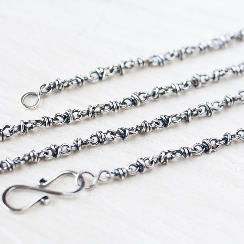 this listing chains laav item unique like link wire necklace wrapped il silver sterling