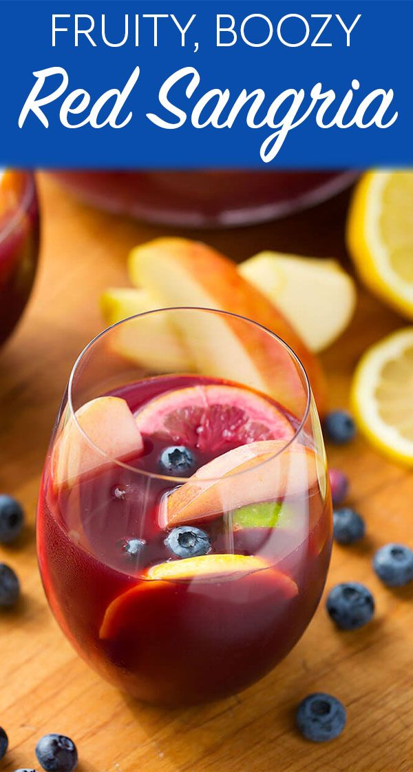 Fruity Red Sangria | Simply Happy Foodie