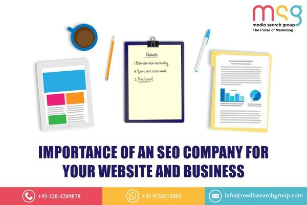 Importance of an SEO Company for Your Website and Business  Seo company, Seo marketing, Seo