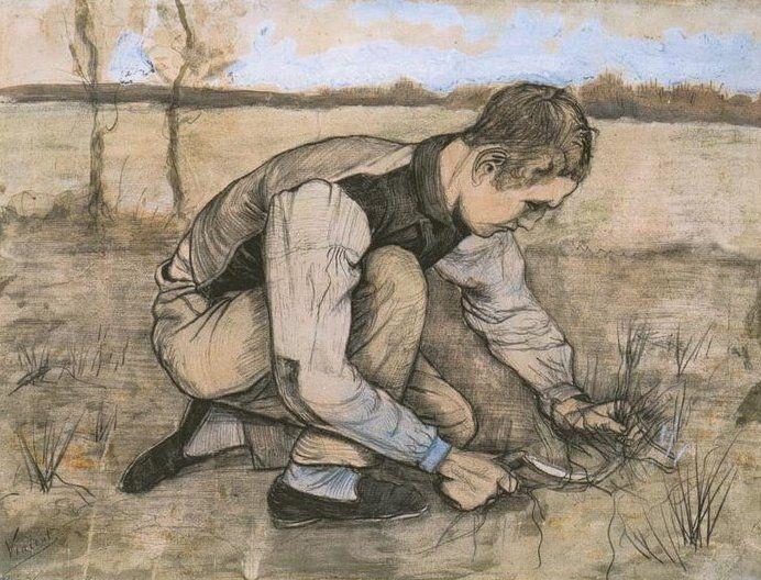 Vincent Van Gogh Drawing Van Gogh Drawings Van Gogh Art Van