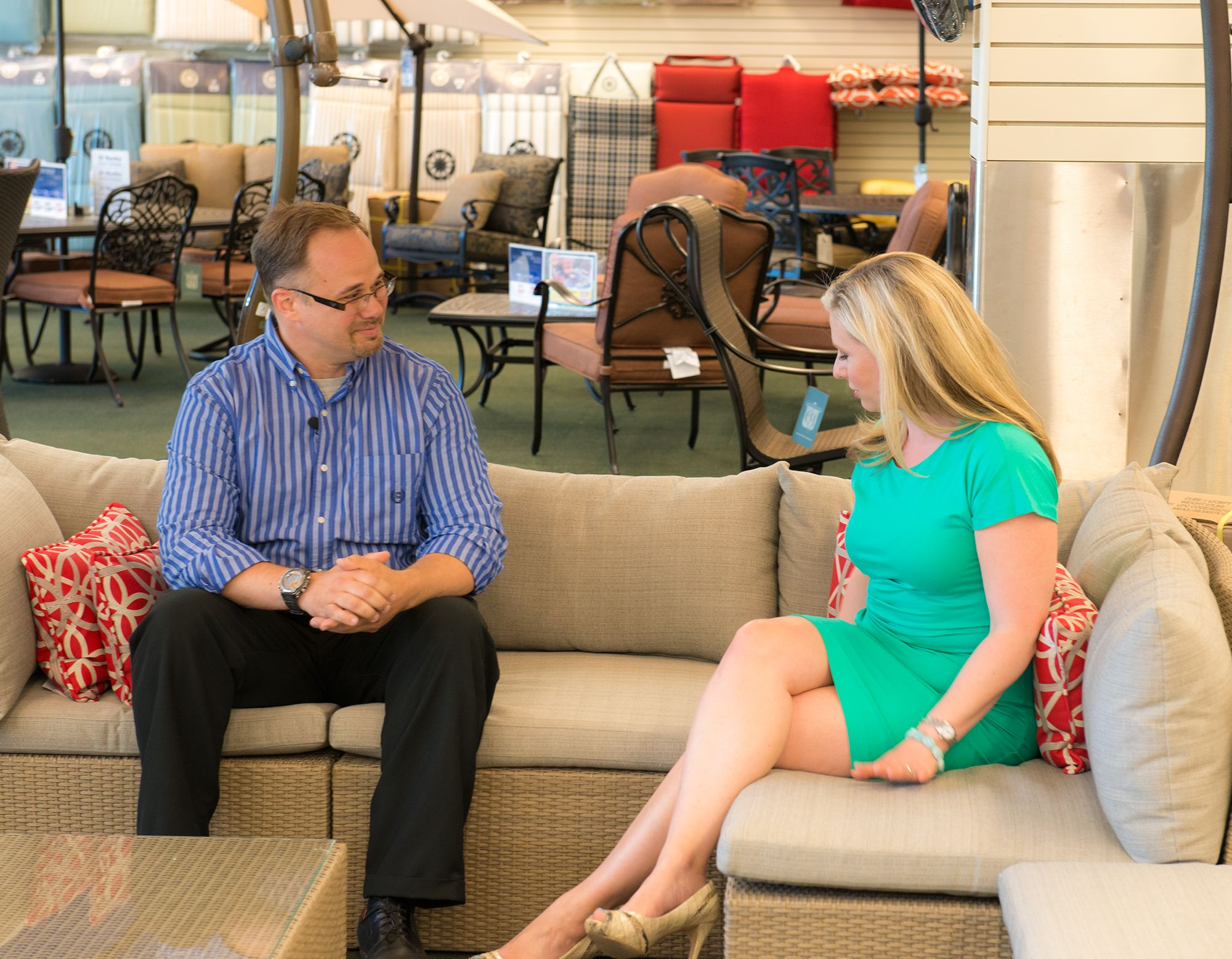 kara sundlun talks to namco about their brand new line of luxurious yet affordable patio furniture - Affordable Patio Furniture
