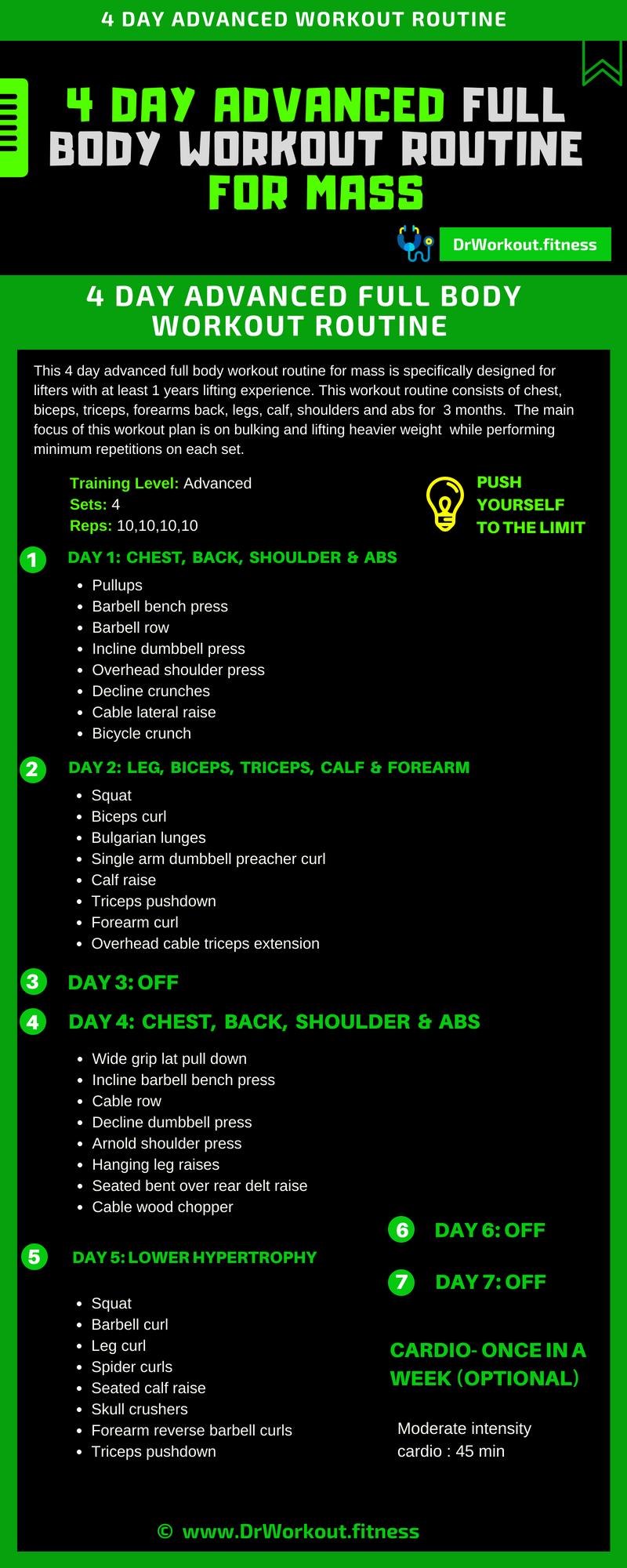 bulking workout routine 5