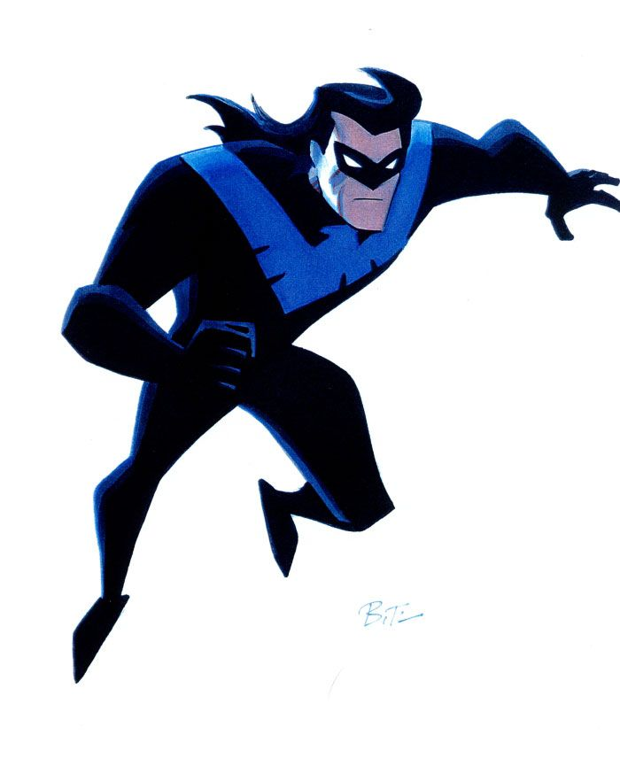 This incarnation of Nightwing was my introduction to the character ...