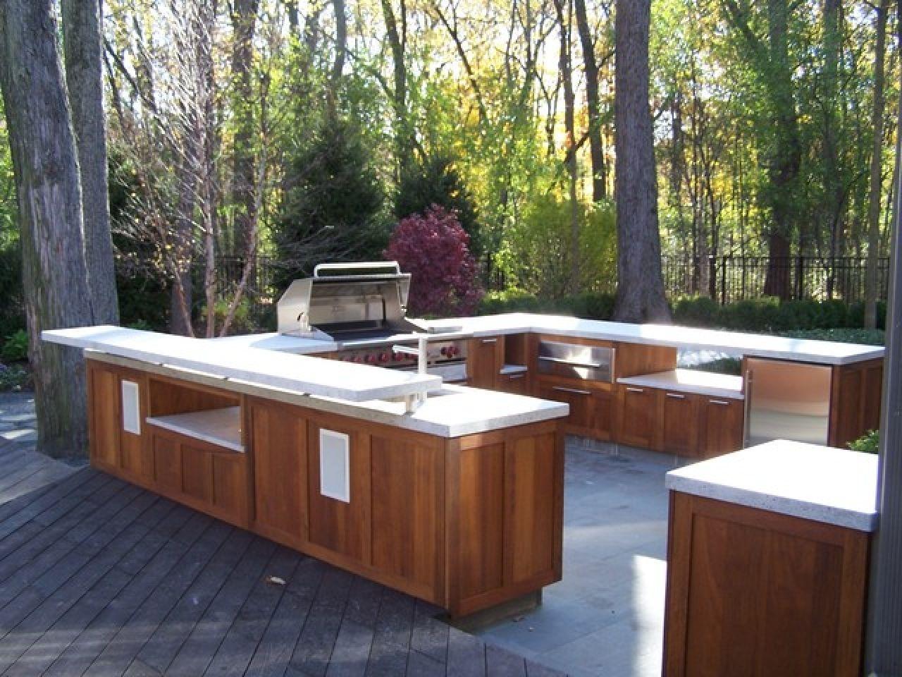 Image Result For Cedar Outdoor Kitchens Outdoor Kitchen Wood