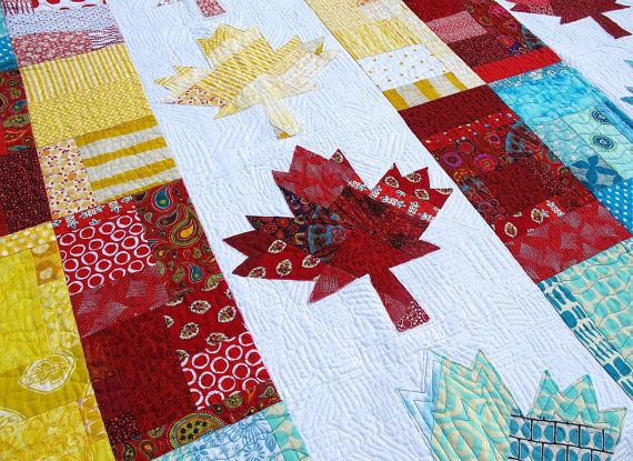 Oh Canada Quilt Pattern PDF by CherylArkison on Etsy | Quilts ... : quilts canada - Adamdwight.com
