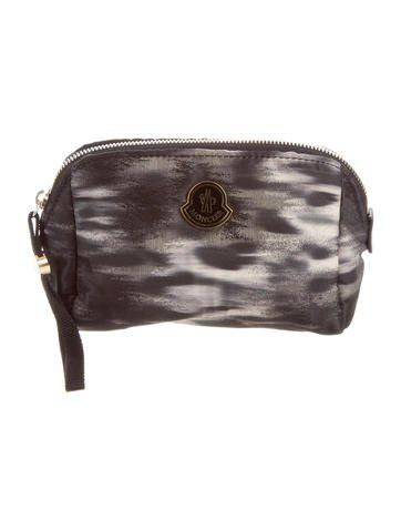 1fd6ae90fd4d Moncler Nylon Cosmetic Bag | Products | Pinterest | Cosmetic bag ...