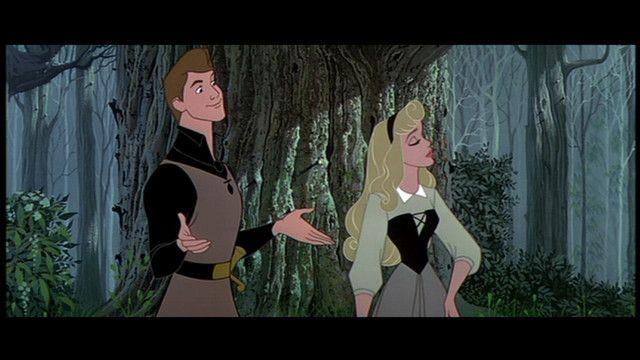 Princess Aurora and Prince Phillip :)
