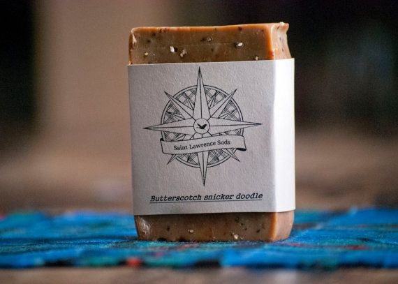 Butterscotch Snickerdoodle Handmade Soap by SaintLawrenceSuds, $5.00