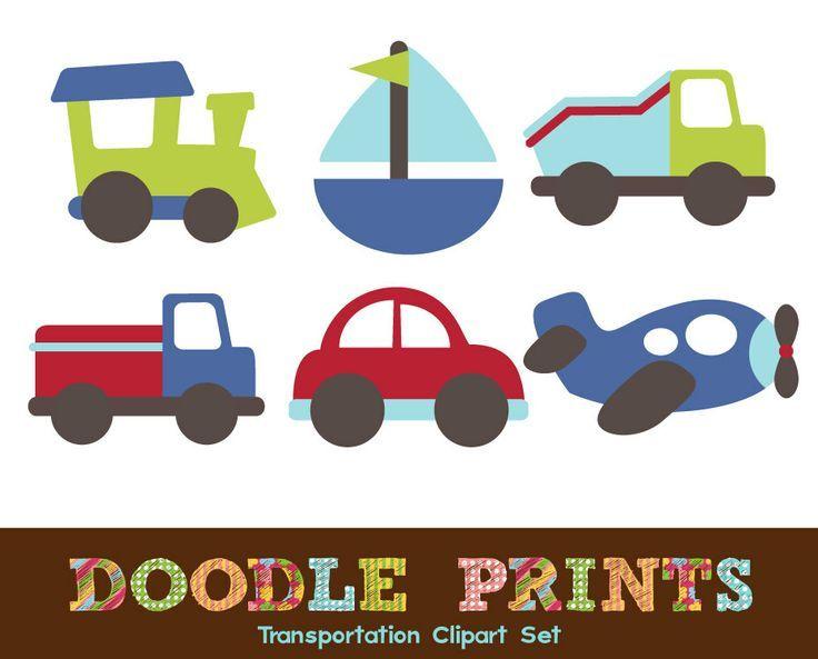 digital scrapbook clip art printable transportation design car rh pinterest com Printable Scrapbook Tags and Labels Scrapbook Doodle Clip Art