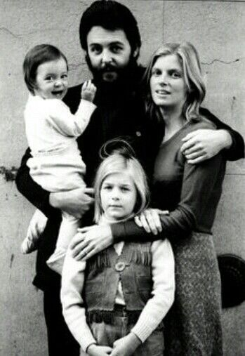 Mary Paul Heather And Linda McCartney