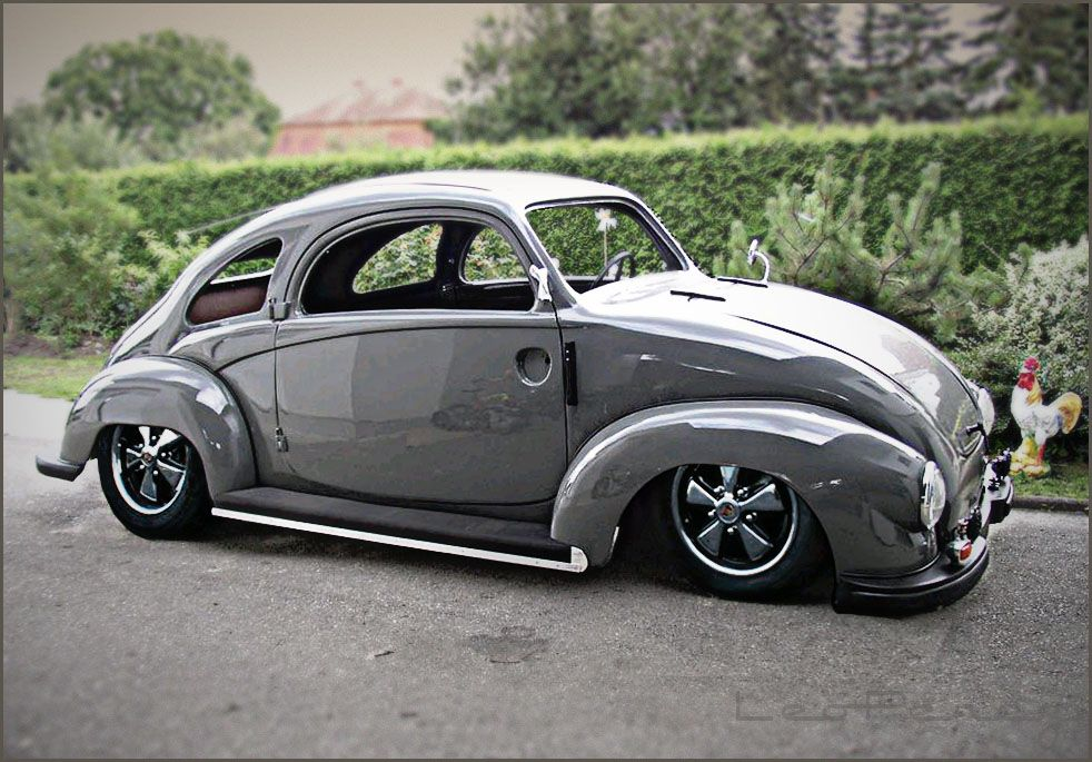 Kohlruss coach-built VW....   *Repin by Tburg*