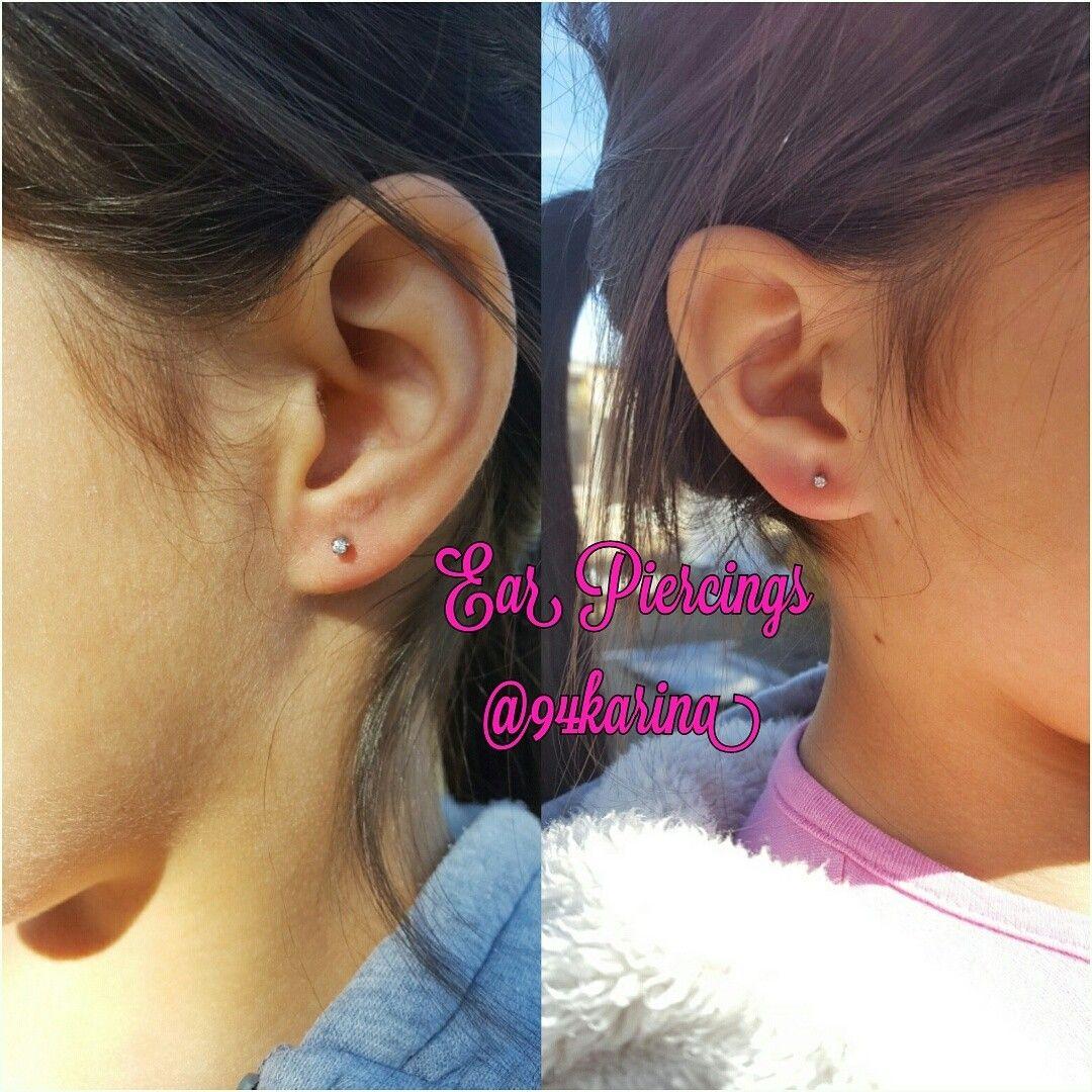 Nose and ear piercing  Ear piercing  I poke ppl  Pinterest  Ear piercing