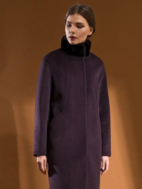 65da05d1dde Пальто демисезонное POMPA шерсть пальтовая ткань серый  продажа ...