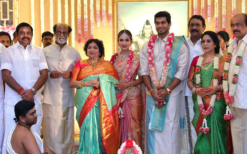 Rajinikanth Daughter Soundarya  – Vishagan Wedding