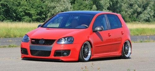 the red carbon gti oem feinstes feintuning am 2005er. Black Bedroom Furniture Sets. Home Design Ideas