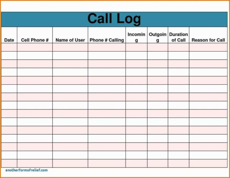 Sales Call Report Template Free Also Daily Excel Unique With